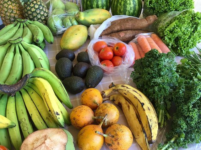 Nákupní seznam pro začátek se zdravým stravováním
