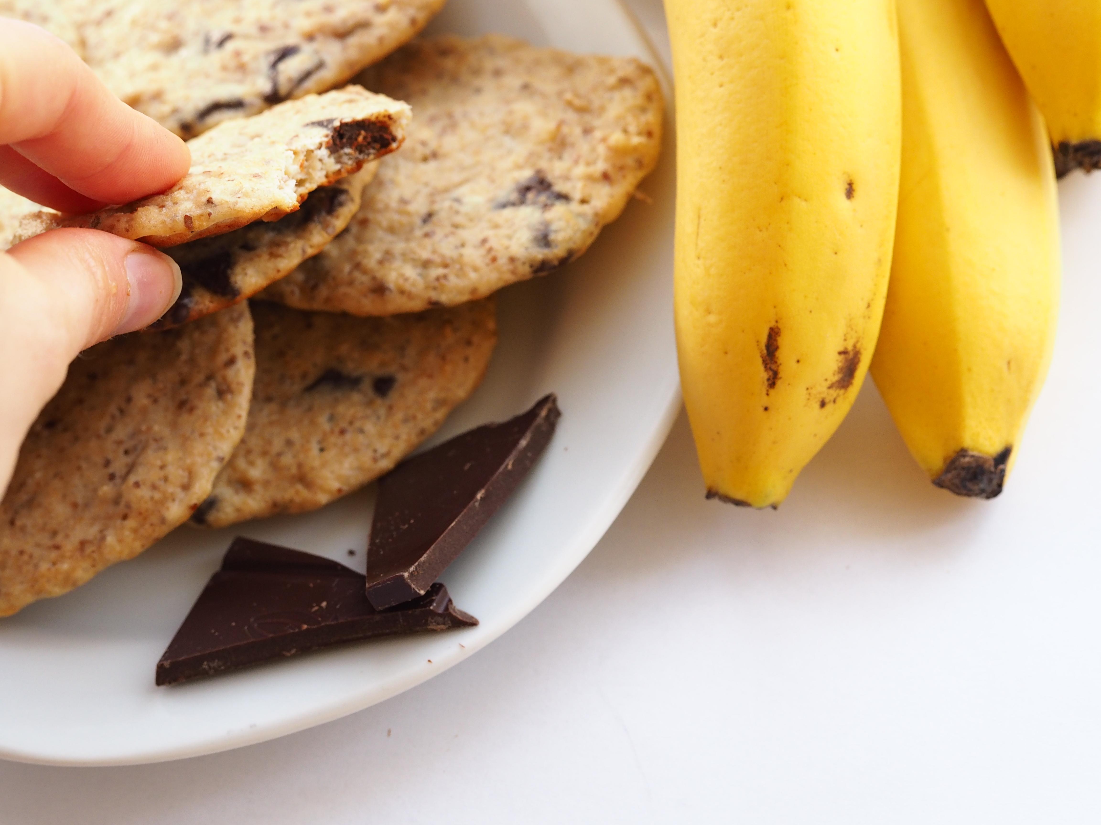Rychlé banánové cookies pro zahnání chutí