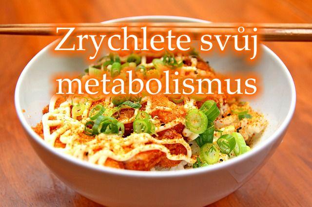 Roztočte metabolismus na plné obrátky